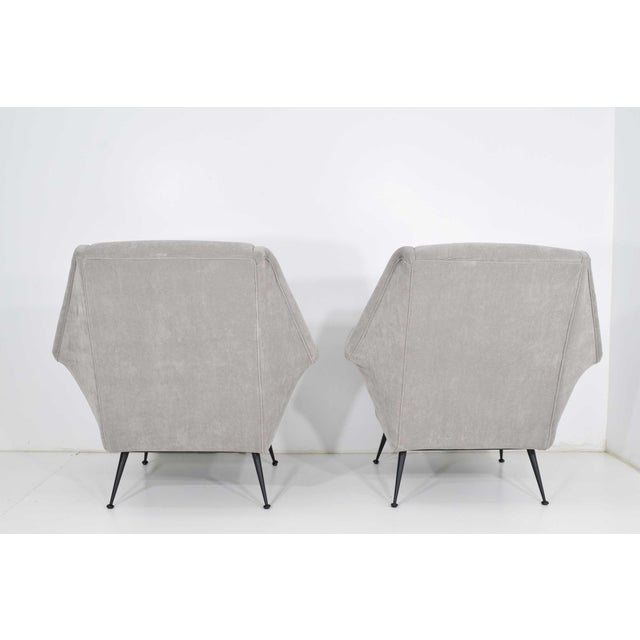 Contemporary Gigi Radice Lounge Chairs - a Pair For Sale - Image 3 of 10