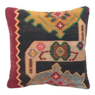 Vintage Kilim Throw Pillow