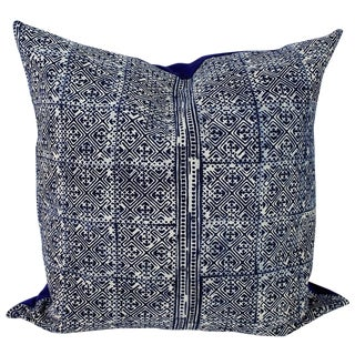 Hmong Lattice Batik Handmade Pillow Cover For Sale
