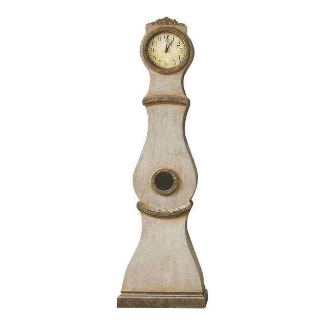 2010s Reproduction Swedish Mora Clock For Sale - Image 5 of 5
