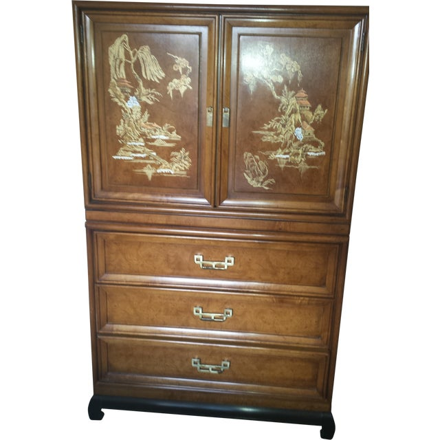 Henry Link Mandarin Collection Armoire/Door Chest - Image 1 of 6
