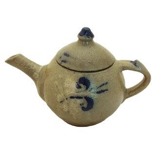 1930s Vintage Ben Owen Jugtown Ware Teapot For Sale