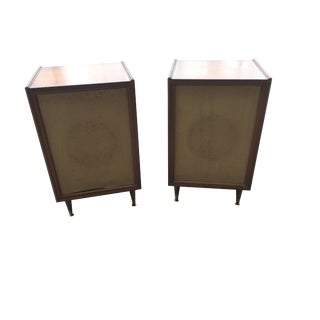 Pair of Mid-Century Speakers LTV University 312 Series