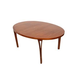 1960s ScandinavianHeltborg Mobler Teak Dining Table For Sale