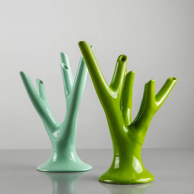 """Alberello"" Ceramic Vase by Guido Andloviz for S.C.I. Laveno For Sale - Image 6 of 10"