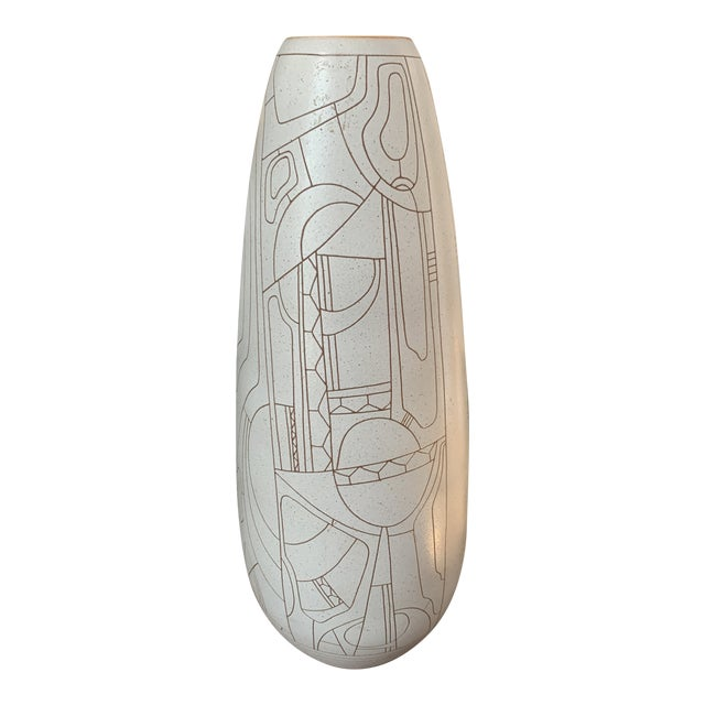 Lapid Hand Thrown Ceramic Vase For Sale