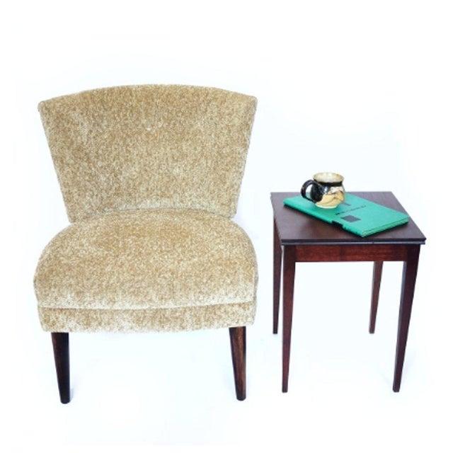 Original Hollywood Regency Kroehler Slipper Chair For Sale - Image 4 of 5