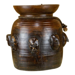 Piru Naga Tribal Buttermilk Pot For Sale