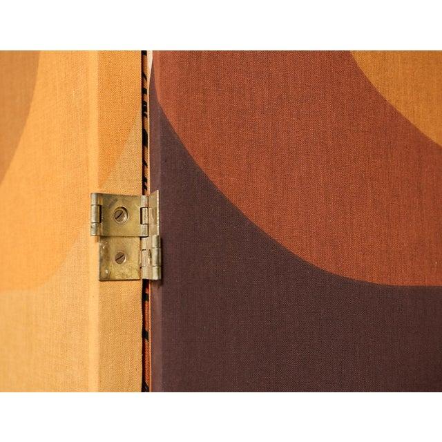 1970s Vintage 2-Panel Room Divider For Sale - Image 5 of 7