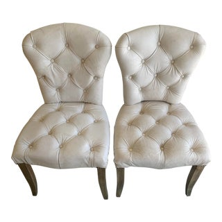 Timothy Oulton's Halo Chester Dining Chairs- A Pair For Sale