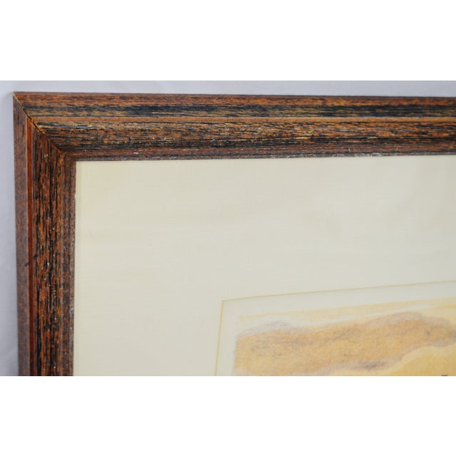 Vintage Framed Limited Edition Landscape Serigraph - Signed and Numbered For Sale - Image 10 of 13