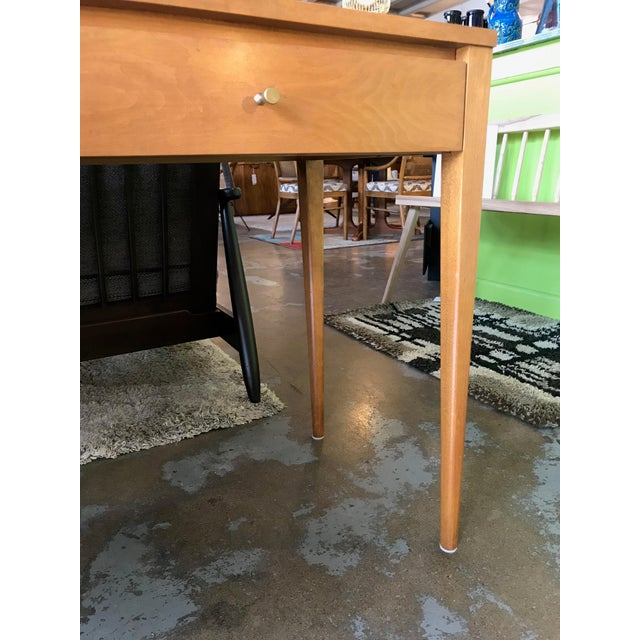 1950s Vintage Paul McCobb Planner Group Desk For Sale - Image 10 of 12
