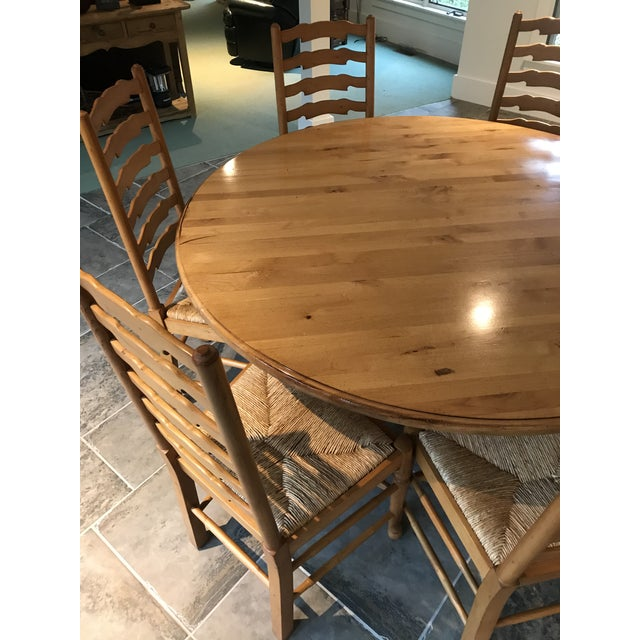 Rustic Andre Originals Solid Wood Kitchen Dining Set - 7 Pieces For Sale - Image 3 of 8