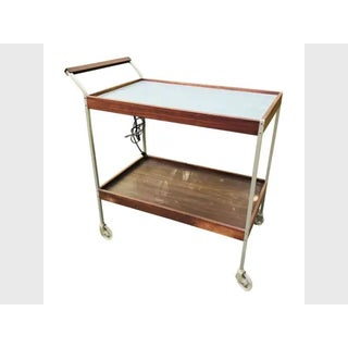 Mid Century Teak Bar Serving Cart Preview
