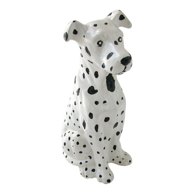 Vintage Ceramic Dalmatian Dog Chairish