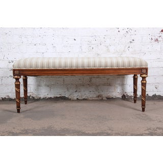Karges Louis XVI Style Upholstered Window Bench Preview