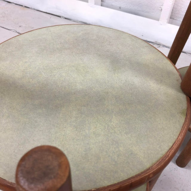 Boho Side Tables/Plant Stand For Sale - Image 4 of 5