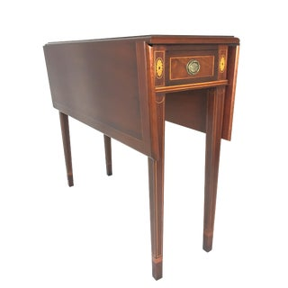 American Classical Polidor Pembroke Drop Leaf Table For Sale