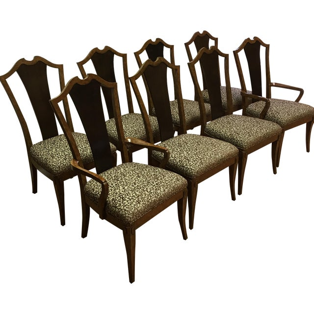 Henredon Frame Dining Chairs - Set of 8 - Image 1 of 9