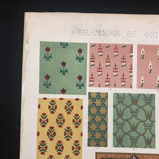 Persian Print From Grammar of Ornament For Sale - Image 10 of 12