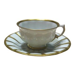 Furstenberg Porcelain Espresso Cup/Saucer For Sale