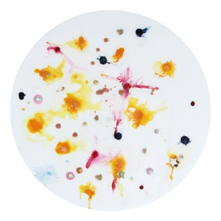 Final Mark-Down Natasha Mistry Contemporary Circular Painting For Sale