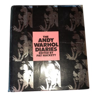 The Andy Warhol Diaries 1989, 1st Edition Collector Memoirs Book For Sale