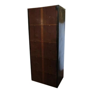 Mid-Century American Bowling Alley Metal Locker