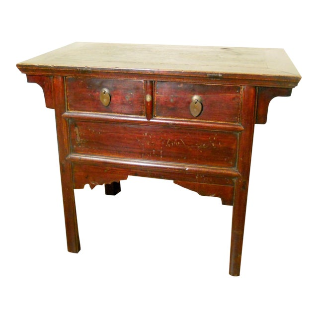 Antique Chinese Ming Altar Cabinet - Image 1 of 9