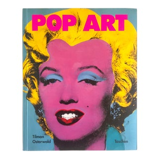 """ Pop Art "" Vintage 1991 Rare 1st Edition Collector's Taschen Art Book For Sale"