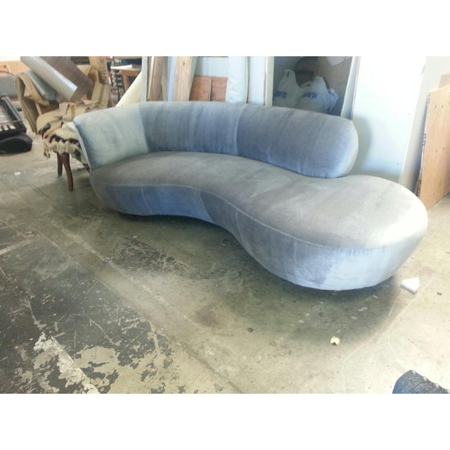 Mid Century Modern Style Chaise Lounge For Sale - Image 4 of 5