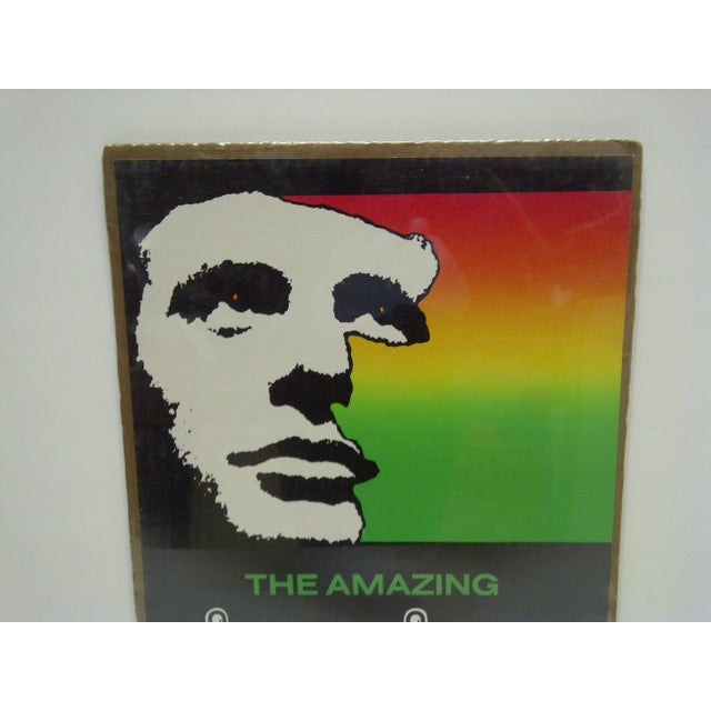 "American 1982 Vintage ""The Amazing Kreskin"" University of Pittsburgh Show Poster For Sale - Image 3 of 4"