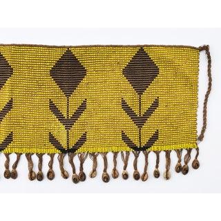 """Ceremonial Tulip Skirt Kirdi Beaded Pikuran Cameroon18"""" W by 9.25"""" H Preview"""