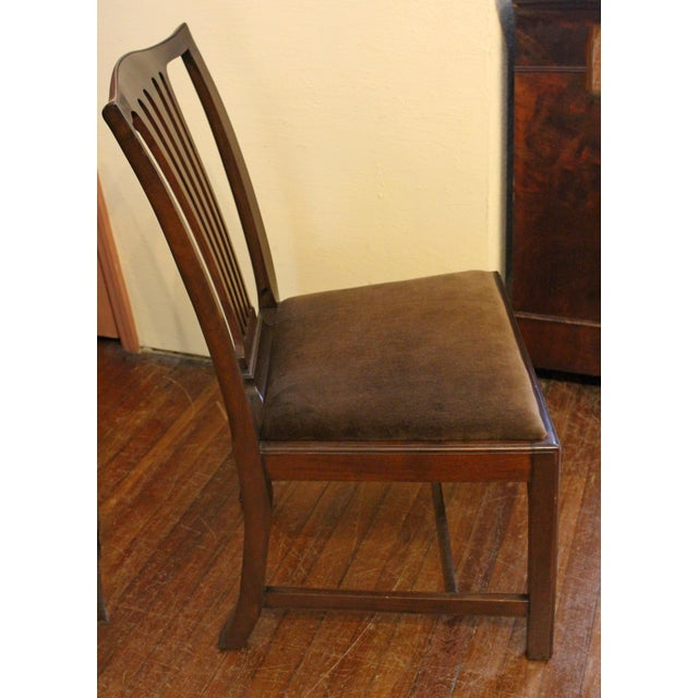 Dining Chippendale Style Chairs - Set of 8 For Sale - Image 4 of 10