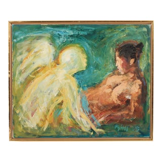2005 Annunciation Scene by Mogens Hoff For Sale
