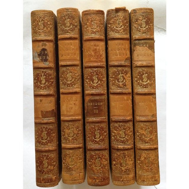 The Poetical Works of John Dryden - 5 Volumes - Image 2 of 8