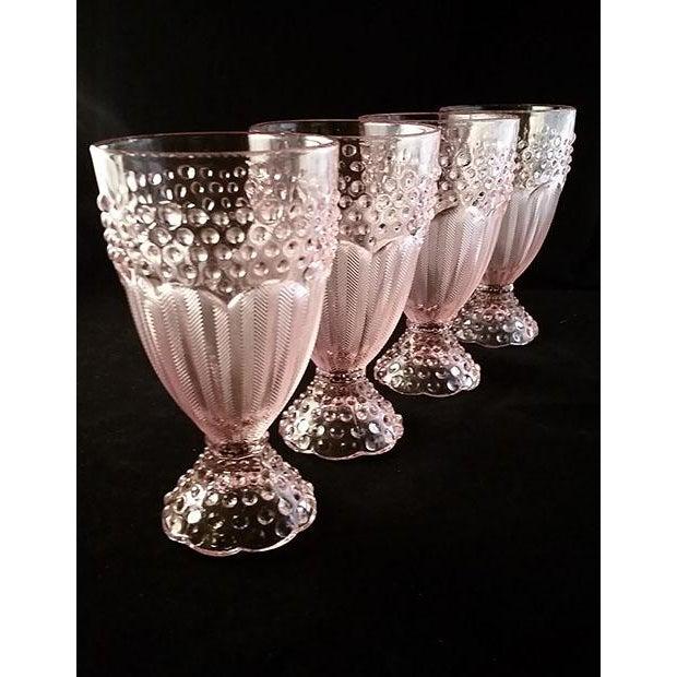 Gorham Iced Tea Crystal Goblets - Set of 4 - Image 2 of 6