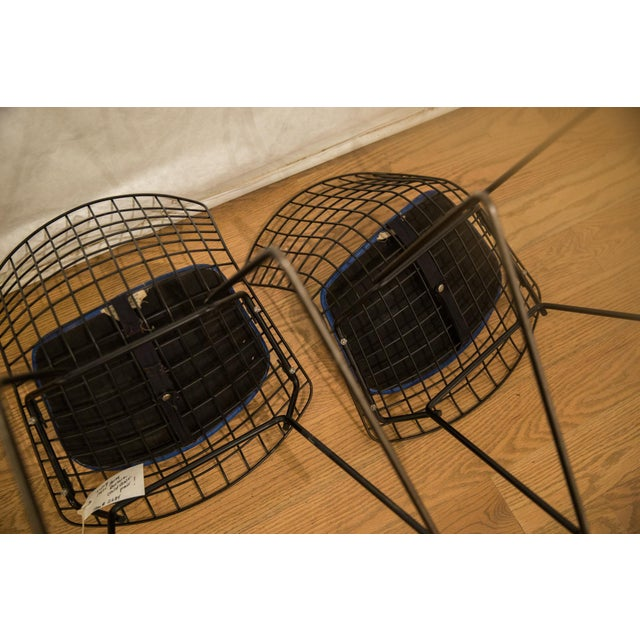 Metal Harry Bertoia Child Chair Pair For Sale - Image 7 of 9