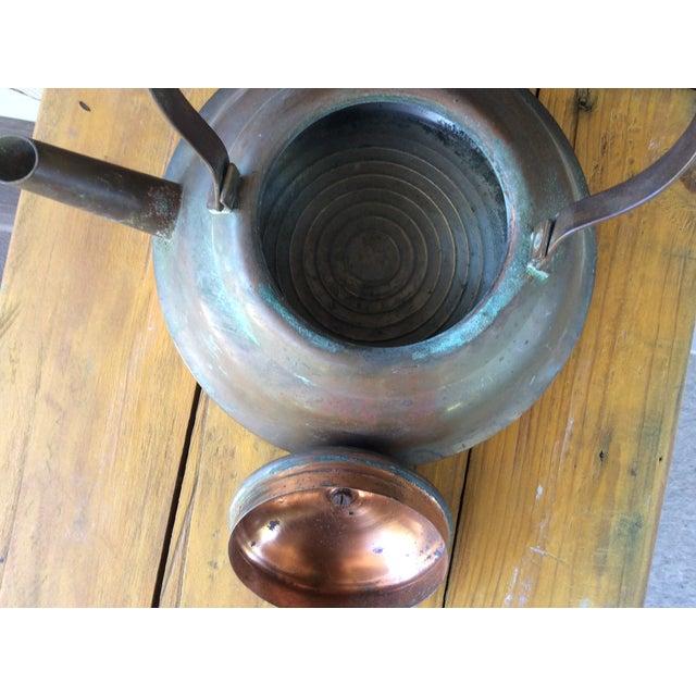 Vintage Copper Tea Kettle with Bakelite Handle - Image 6 of 7