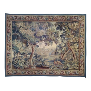 Aubusson Verdure Tapestry Late 18th -Early 19th Century
