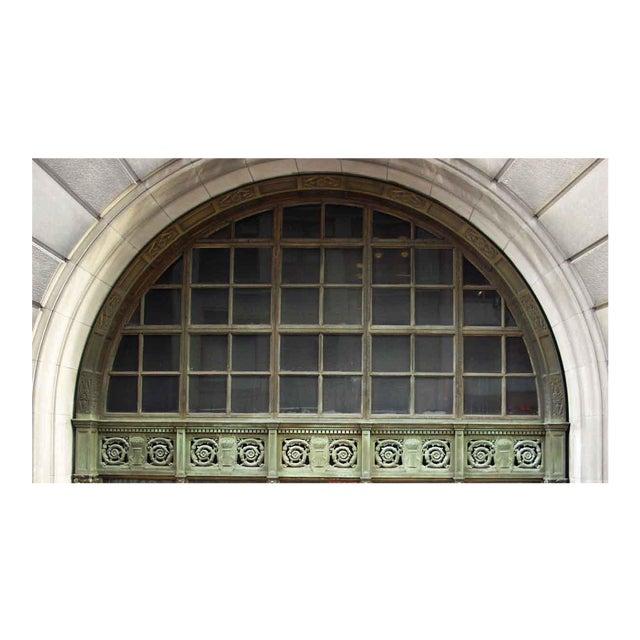 Ornate Bronze Palladian Window Transom For Sale
