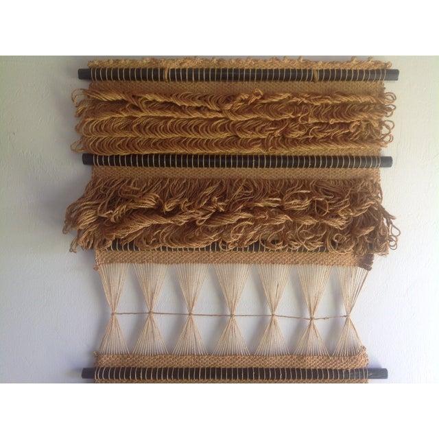 Vintage 1976 Don Freedman Handwoven Tapestry - Image 5 of 7