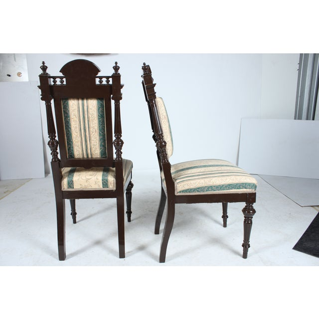 Baroque-Style Dining Chairs - Set of 4 - Image 2 of 4
