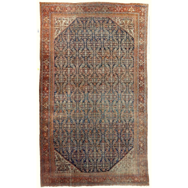 Antique Persian Palatial Rug For Sale - Image 9 of 9