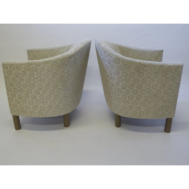 1970s Pair of 1970s Brayton International Collection Modern Club Tub Armchairs For Sale - Image 5 of 13