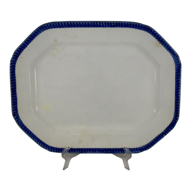 English Leeds Feather or Shell Edge pearlware Platter - Image 1 of 9