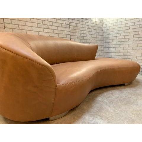 Mid-Century Modern Mid Century Modern Vladimir Kagan Cloud Sofa and Nautilus Swivel Lounge Chair - 2 Piece Set For Sale - Image 3 of 11