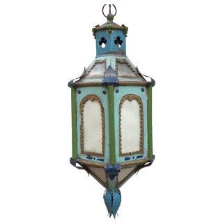 Antique Boho Chic Hanging Lantern