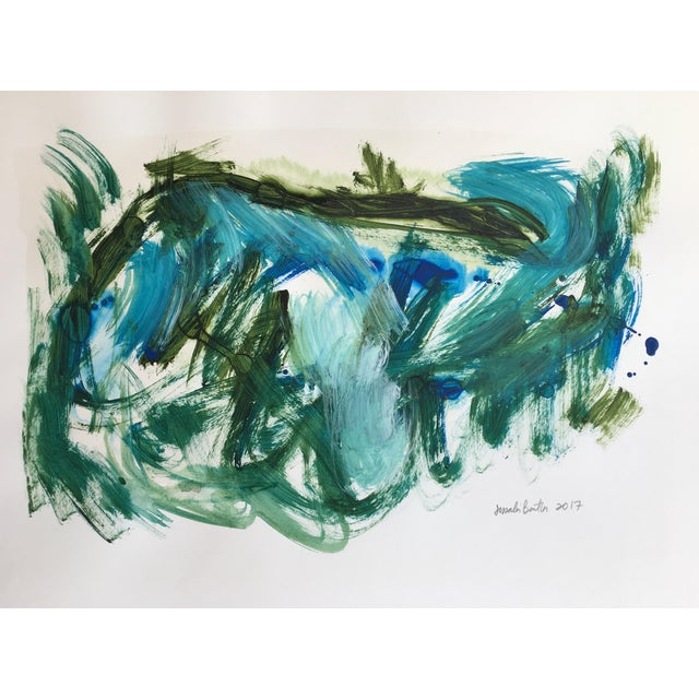 "Jessalin Beutler ""No. 84"" Original Painting - Image 1 of 4"