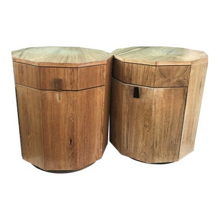 1960s Mid-Century Modern Harvey Probber Rosewood End Tables/Dry Bar - a Pair For Sale